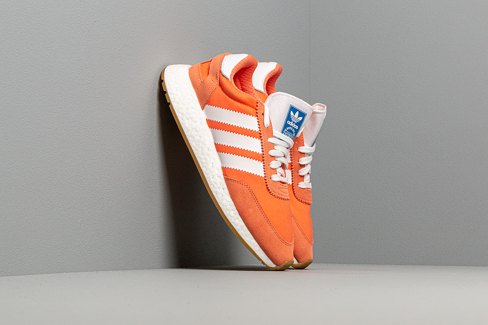 Women's shoes adidas I-5923 W Semi Core Orange/ Ftw White/ Gum3