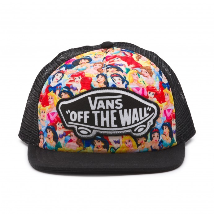 Vans Disney Trucker Multi Princess Black Cap  6b122d321d9