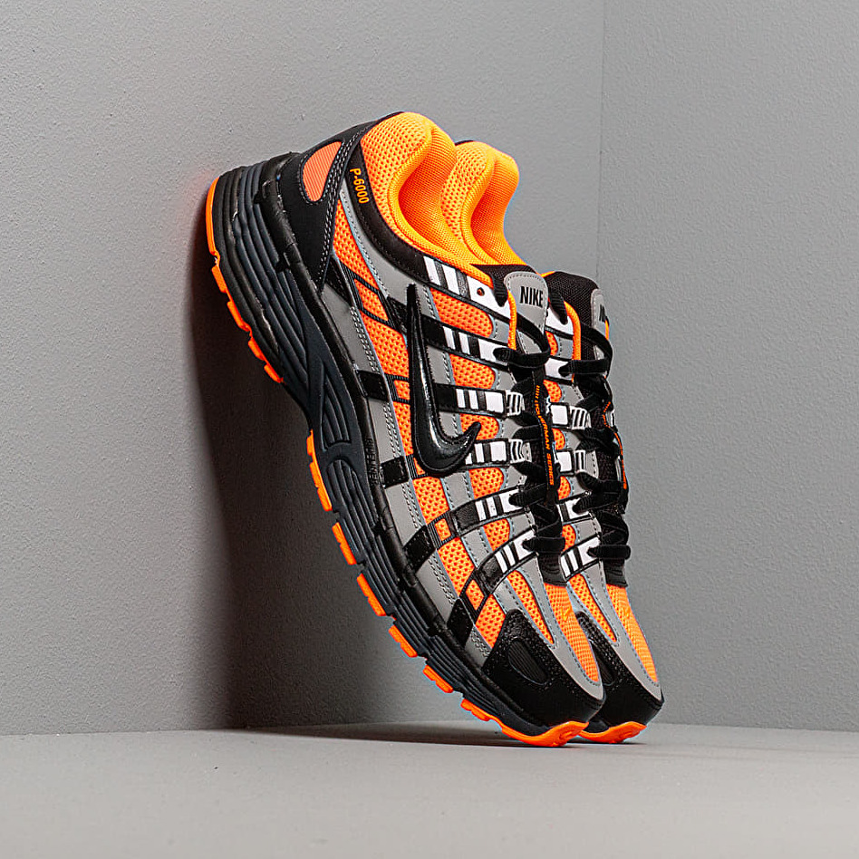 Nike P-6000 Total Orange/ Black-Anthracite-Flt Silver EUR 43