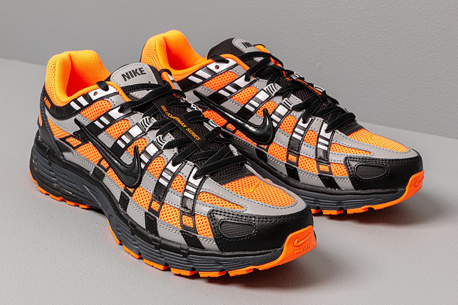Nike P 6000 Total Orange Black Anthracite Flt Silver | Footshop