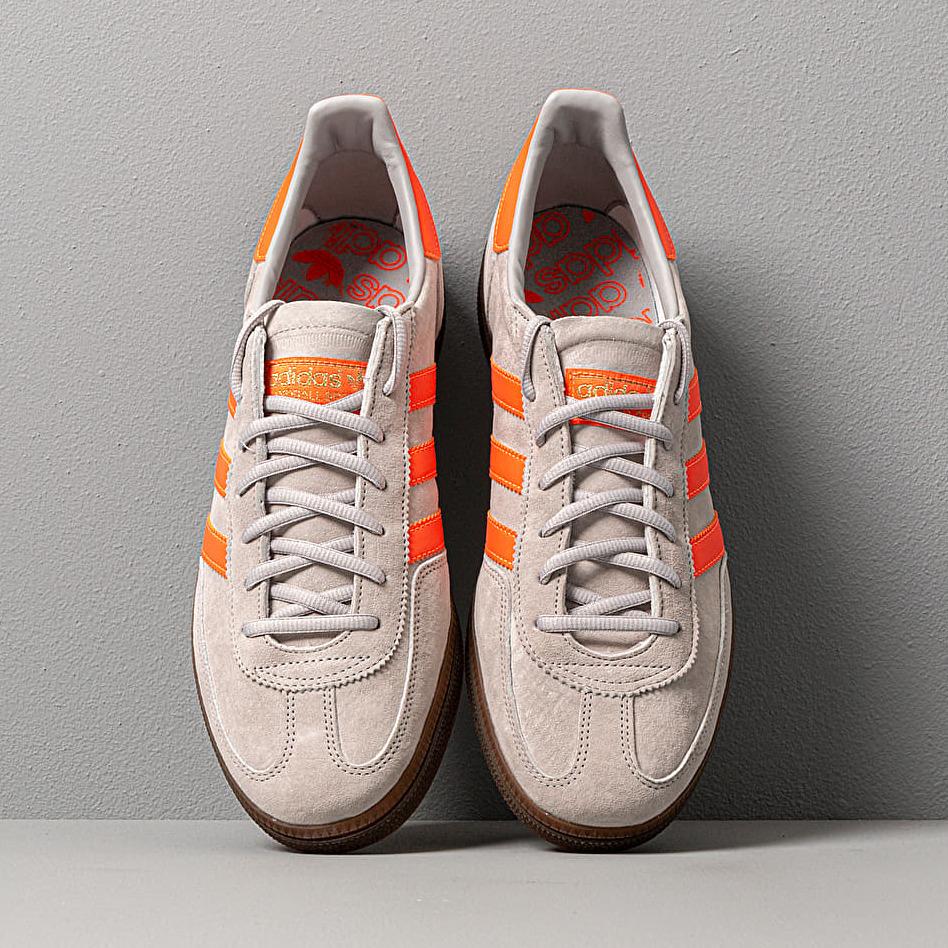 adidas Handball Spezial Grey Two/ Hi-Res Collegaite/ Gold Metalic, Gray