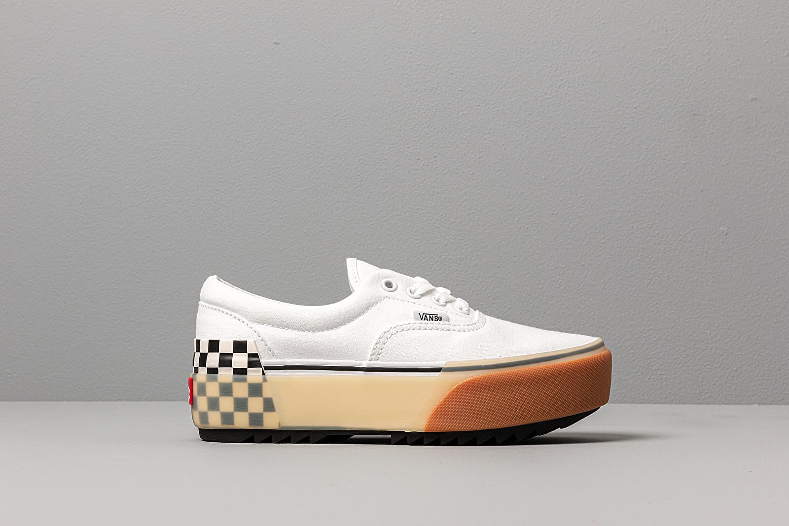 Vans Era Stacked White/ Checkerboard | Footshop