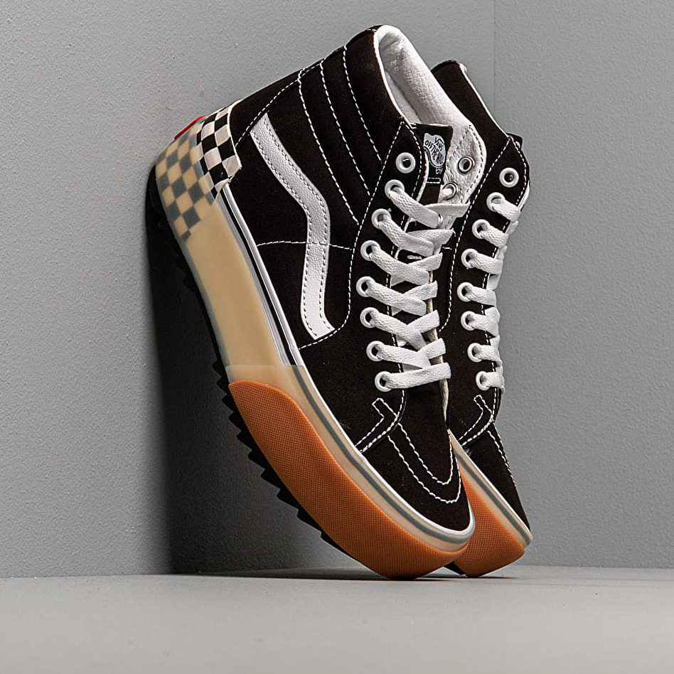 Vans Sk8-Hi Stacked Black Checkerbord EUR 39