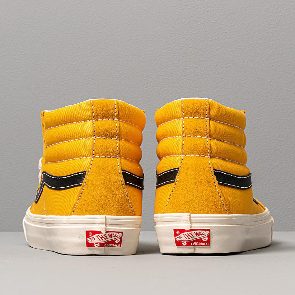 Vans Og Sk8-Hi Lx (Suede/ Canvas) Old, Yellow