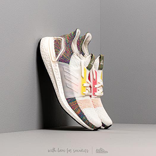 adidas Ultraboost 19 PRIDE Running White/ Scarlet/ Bright Yellow | Footshop