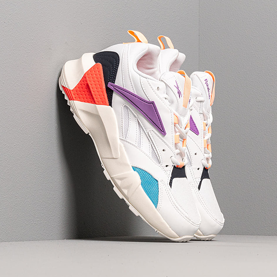 Reebok Aztrek Double Mix Pops White/ Grape Punch/ Bri EUR 38.5
