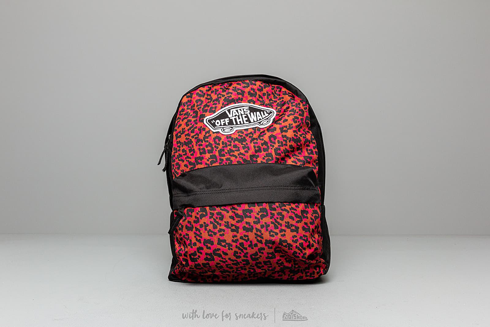 mochila vans leopard