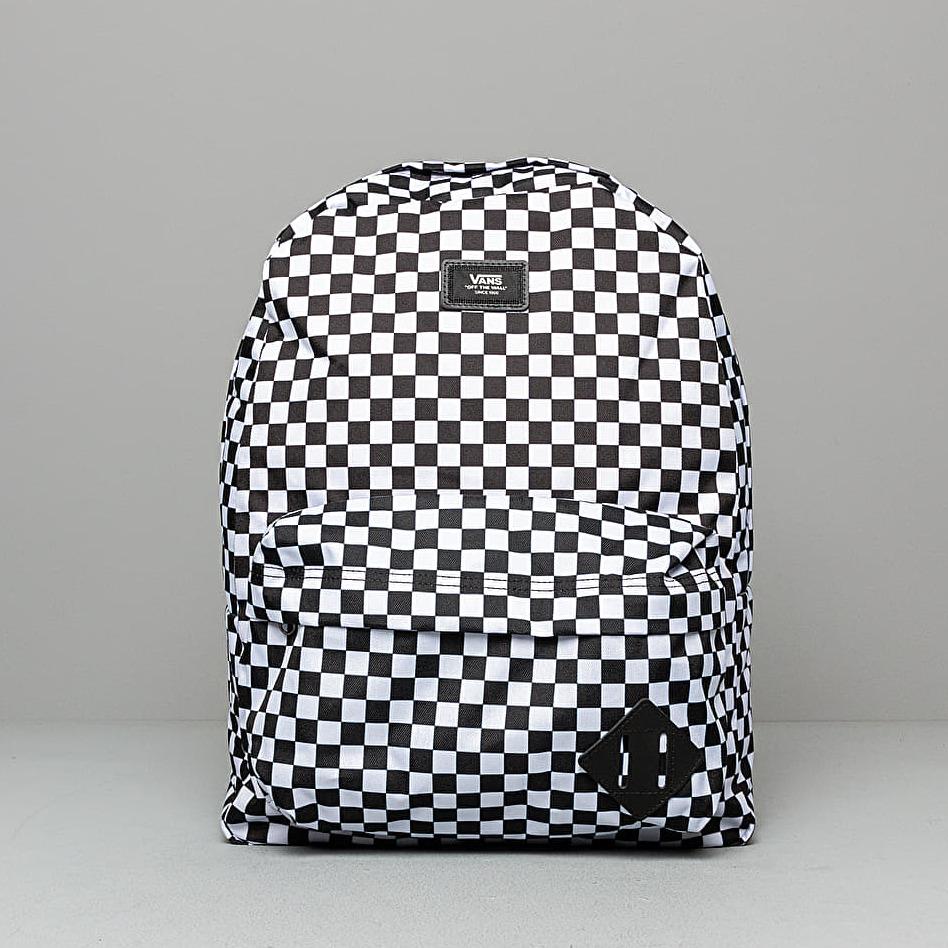 Vans Old Skool III Backpack Black/ White Check 22 litrov