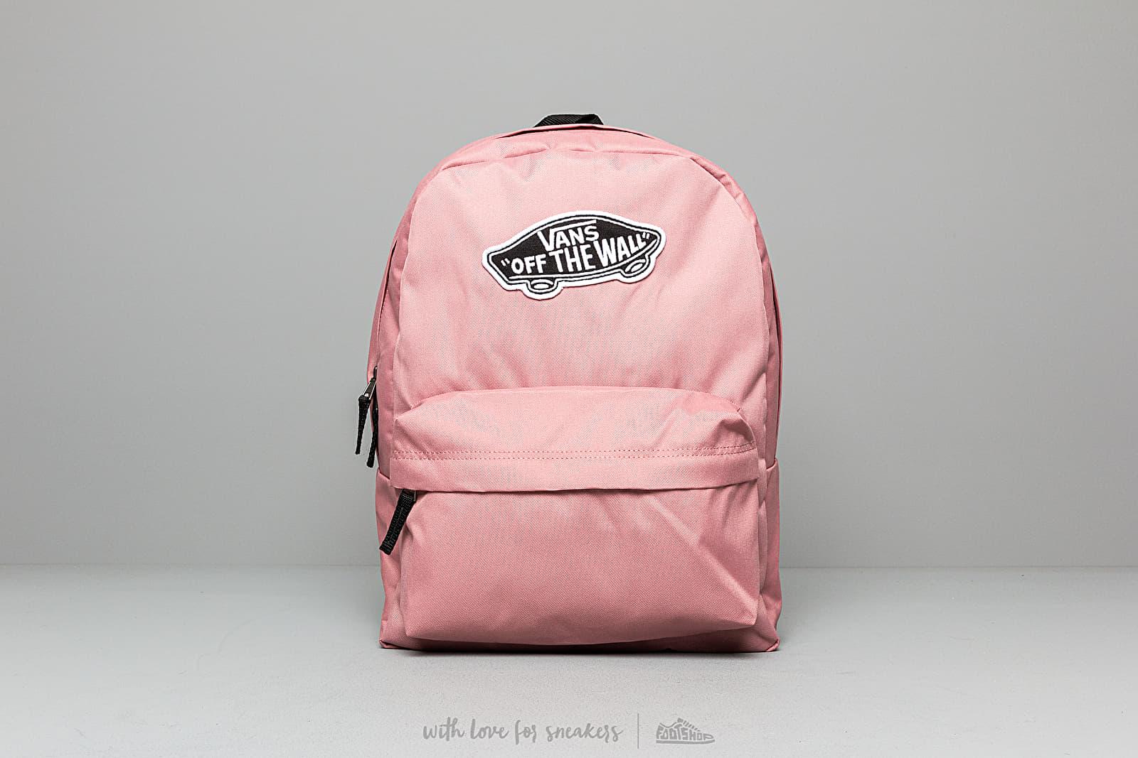 Vans Realm Backpack Nostalgia Rose   Footshop