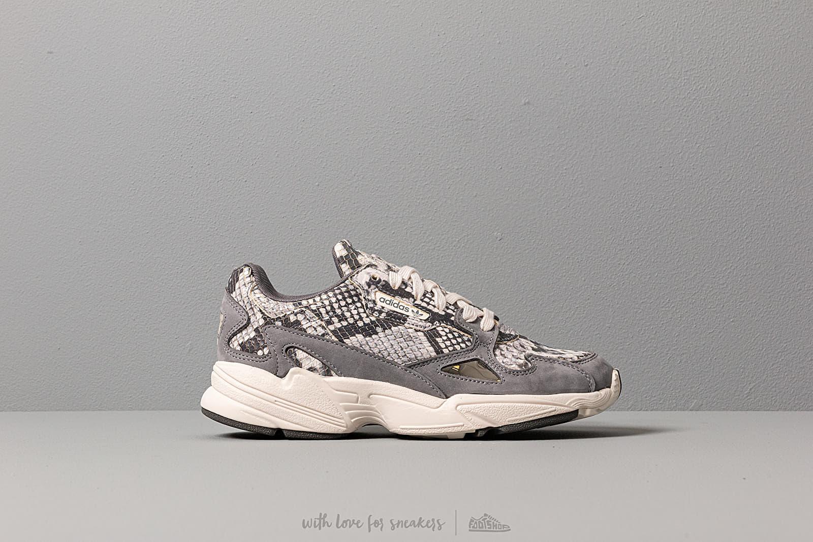 adidas Falcon W Crystal White Crystal White Grey Two F17   Footshop