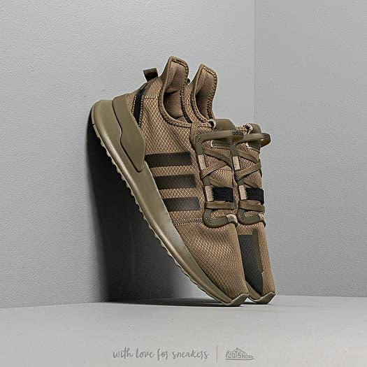 adidas U_Path Run Raw Khaki/ Raw Khaki/ Core Black   Footshop