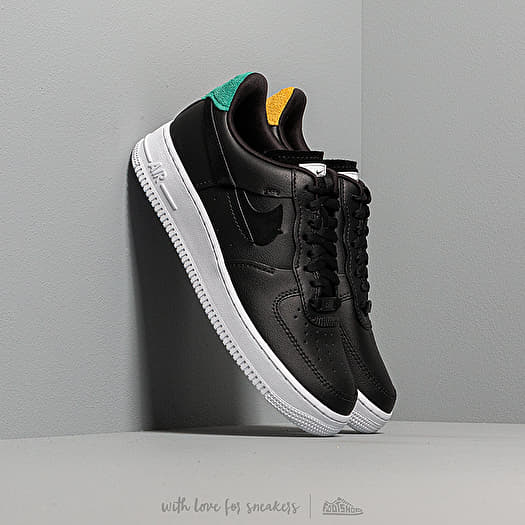 Nike Wmns Air Force 1 '07 LX Black Anthracite Mystic Green | Footshop