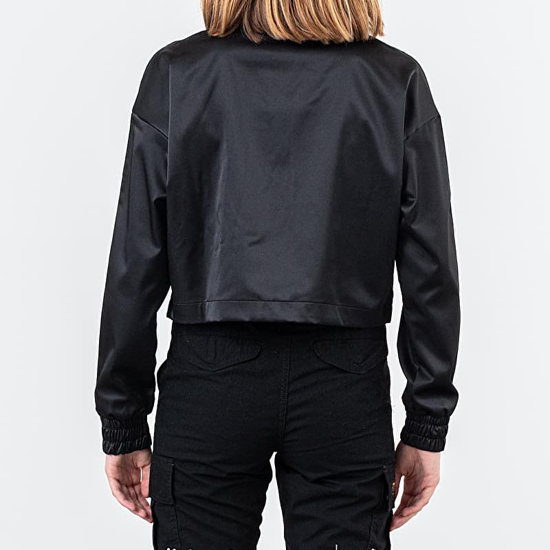Nike Sportswear Air Track Satin Jacket Black