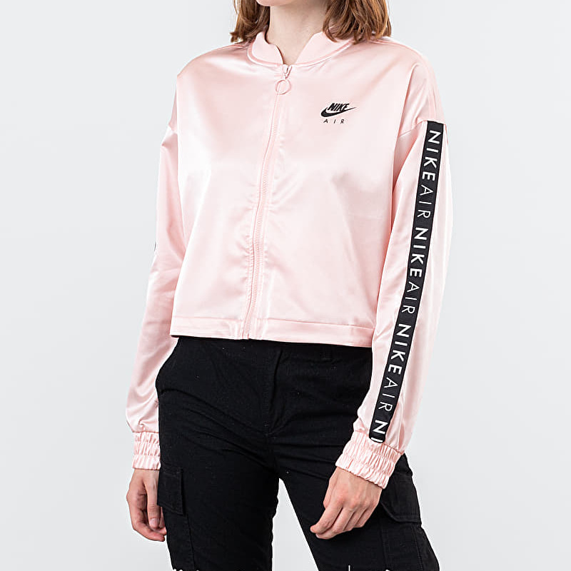 Nike Sportswear Air Track Satin Jacket Echo Pink
