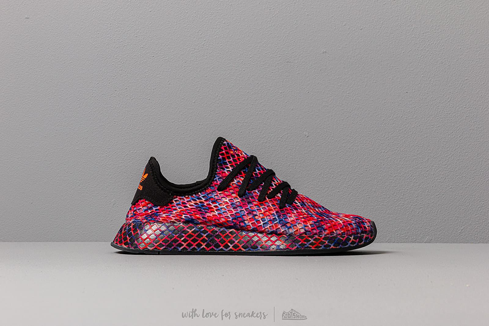 adidas Deerupt Runner Core Black/ Core Black/ Solar Red | Footshop