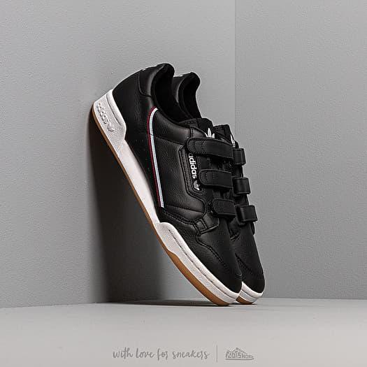 adidas continental all black
