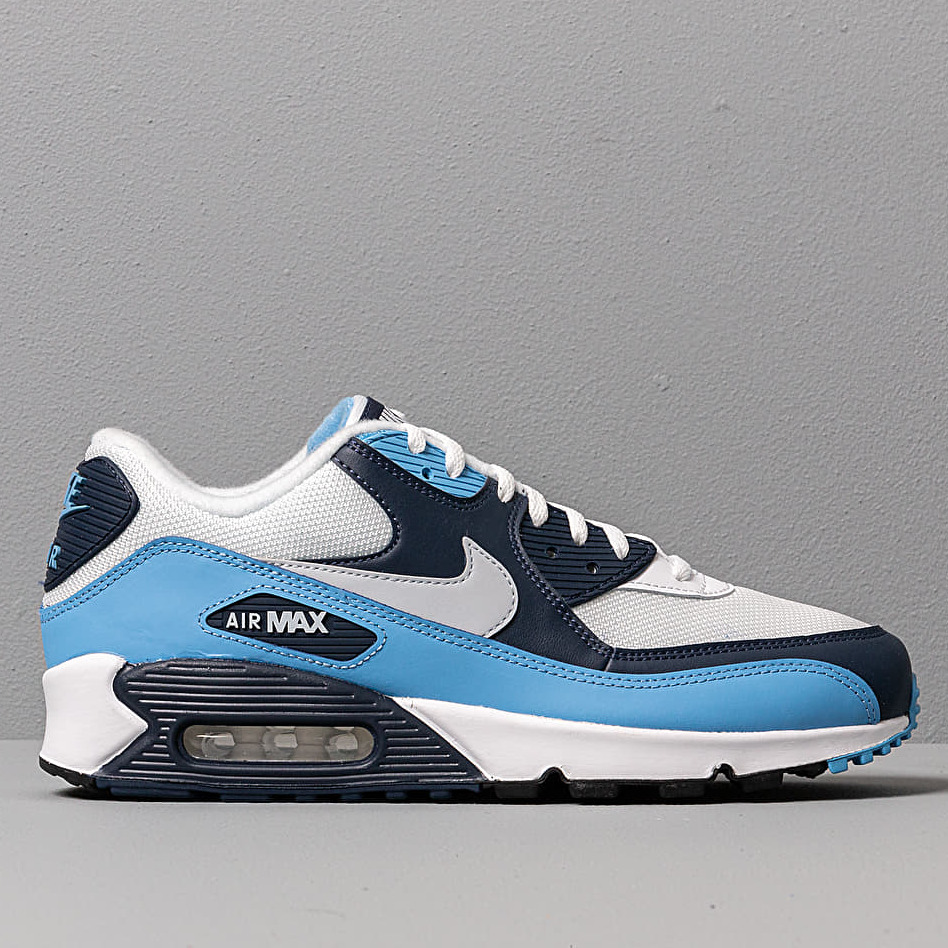 Nike Air Max 90 Essential White Pure Platinum University Blue