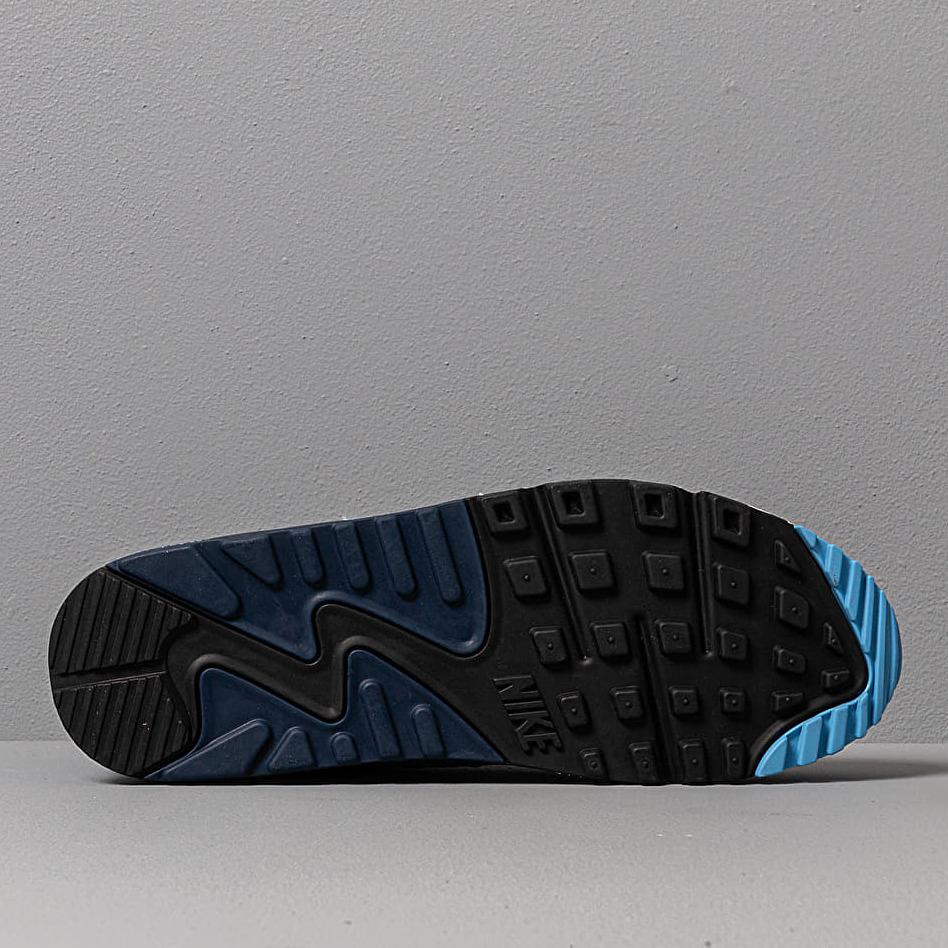 Nike Air Max 90 Essential White/ Pure Platinum-University Blue
