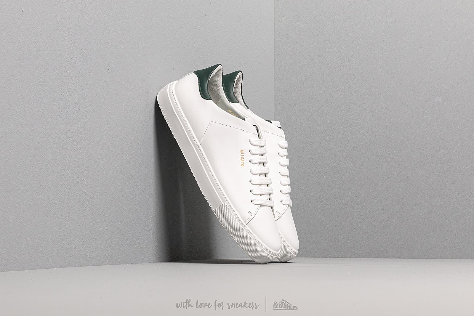 Pánské tenisky a boty AXEL ARIGATO Clean 90 Leather White/ Green