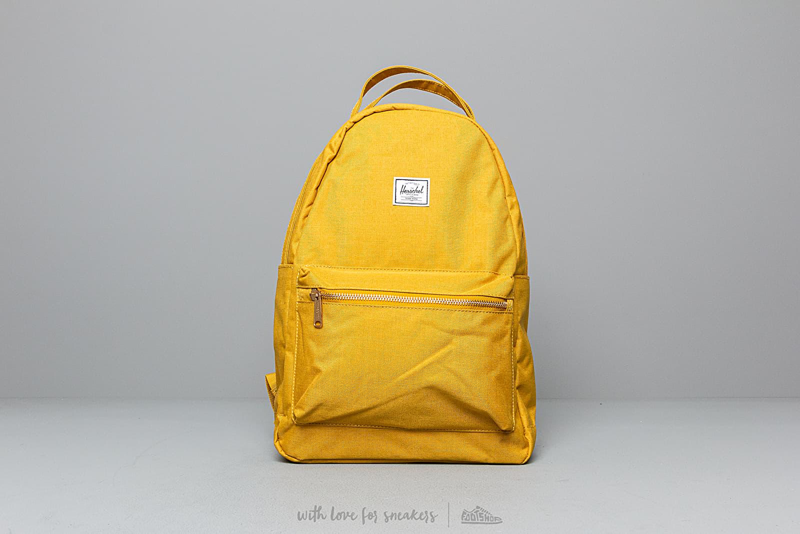Herschel Supply Co  Nova Mid-Volume Backpack Yellow | Footshop