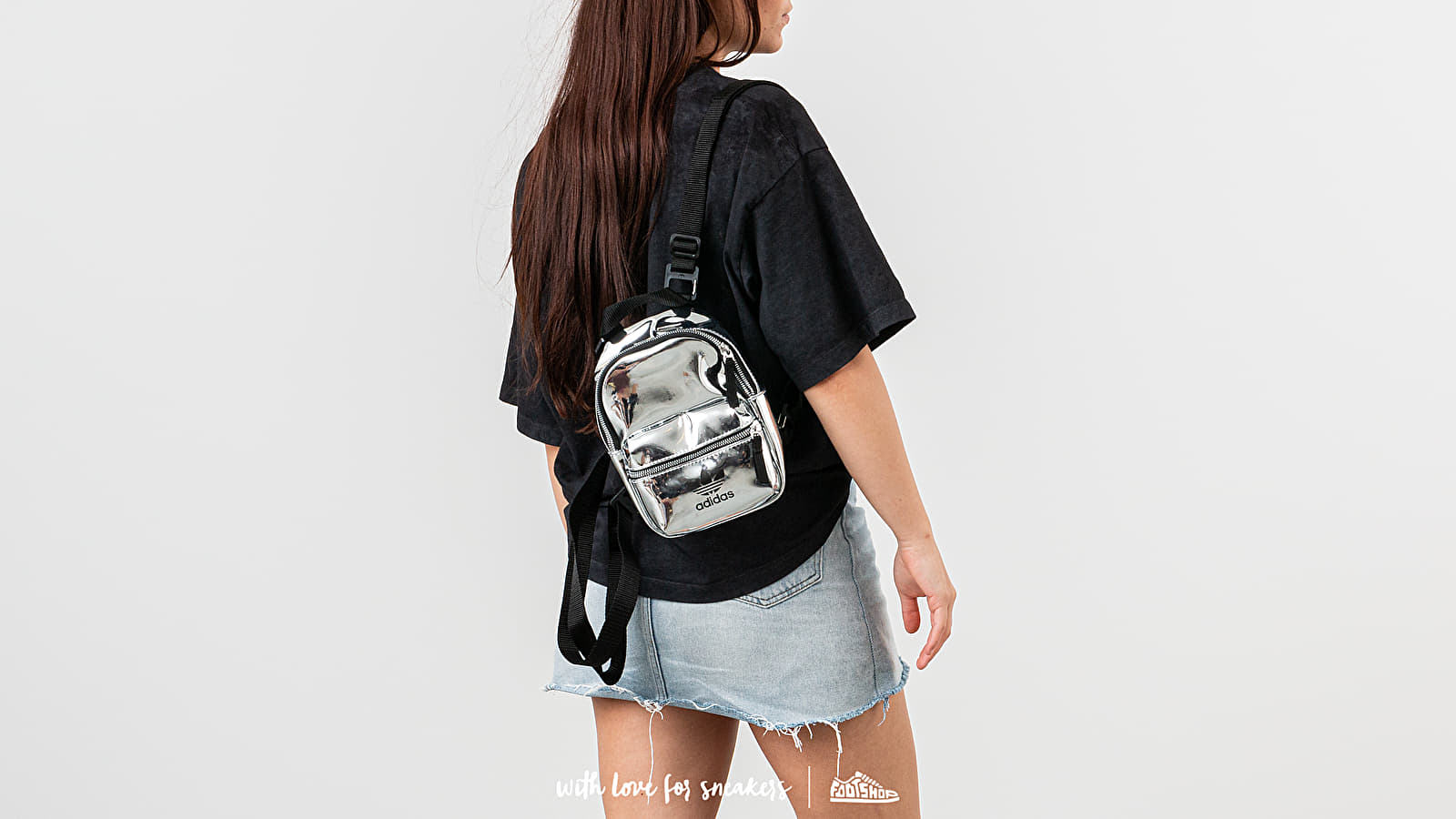 adidas Mini Backpack Silver Metallic | Footshop