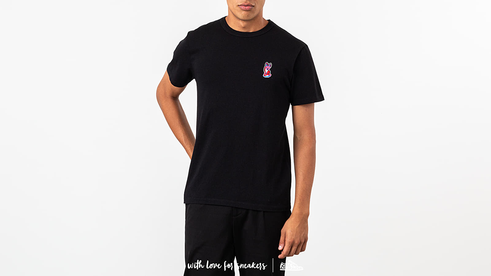 MAISON KITSUNÉ Acide Fox Patch Tee