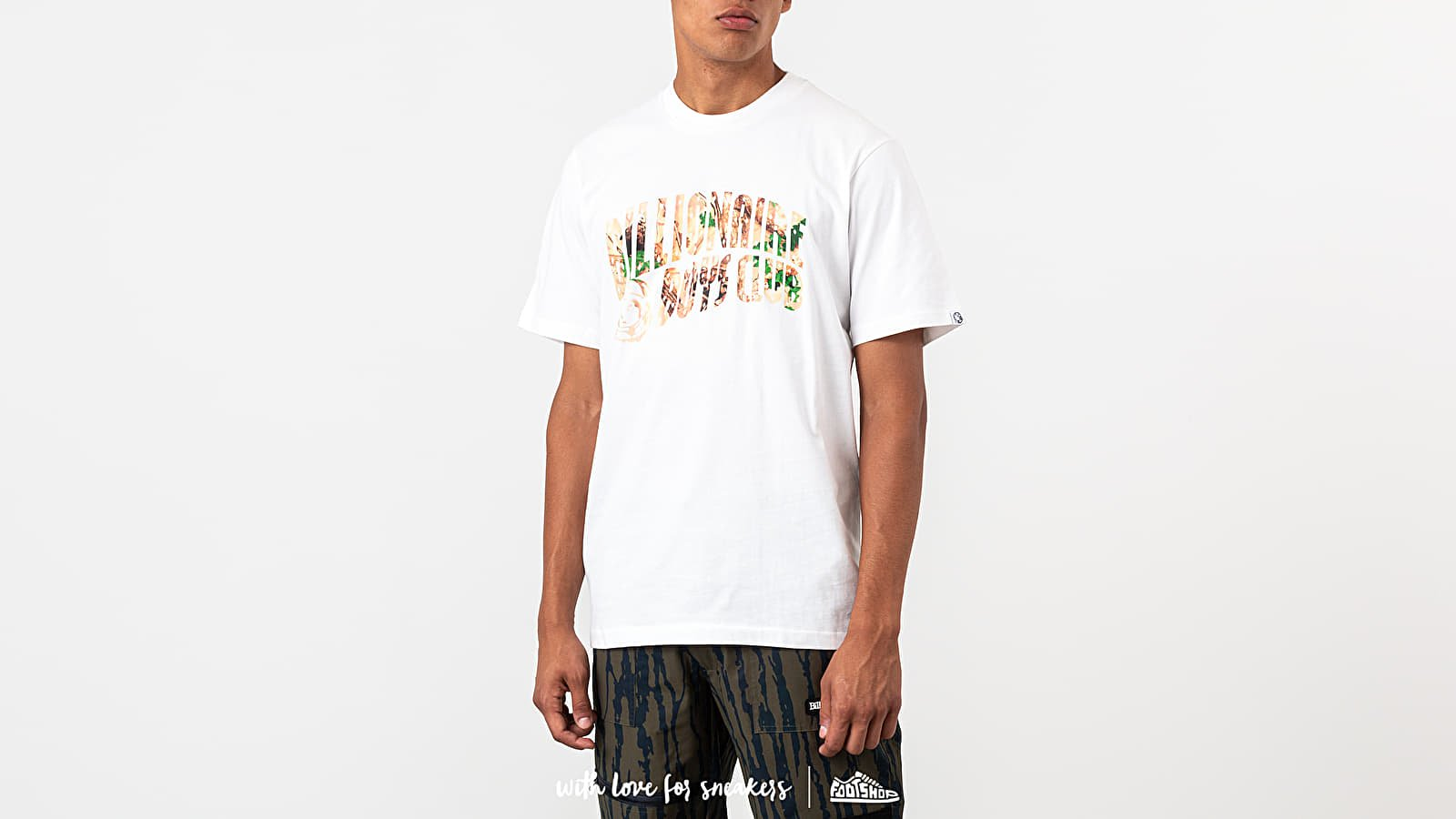 Billionaire Boys Club Tree Camo Arch Logo Tee