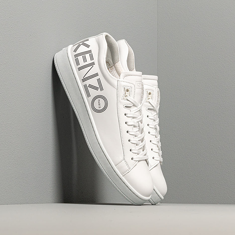 KENZO Tennix Low Top Sneakers White