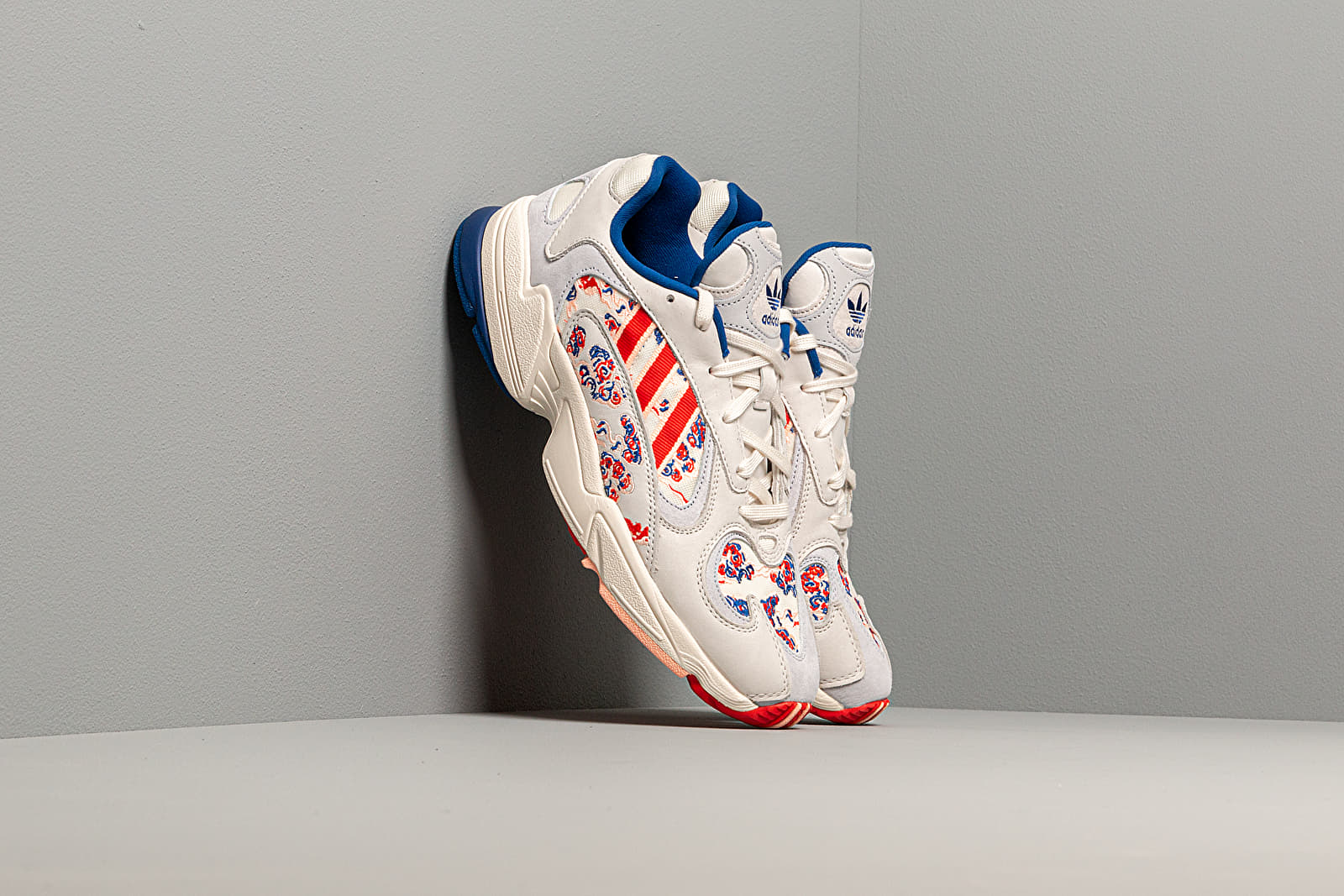 Men's shoes adidas Yung-1 Core Royal/ Active Red/ Core White