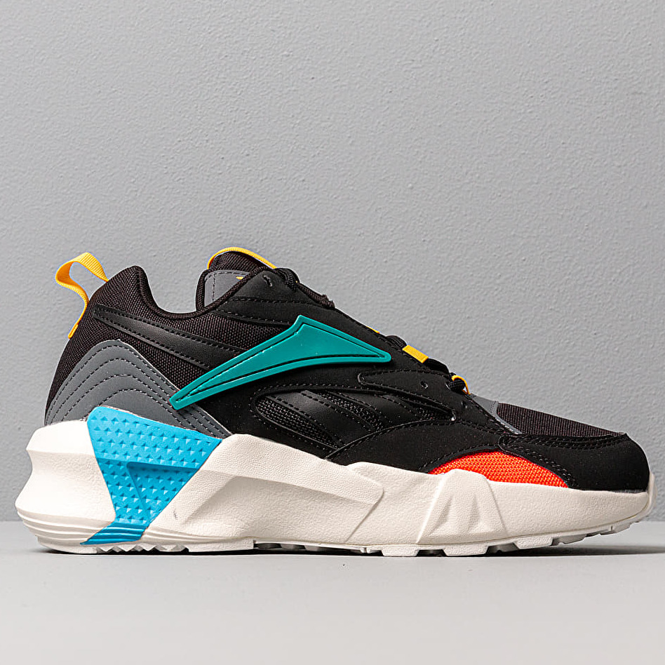 Reebok Aztrek Double Mix Pops Black/ Alloy/ Teal Gem