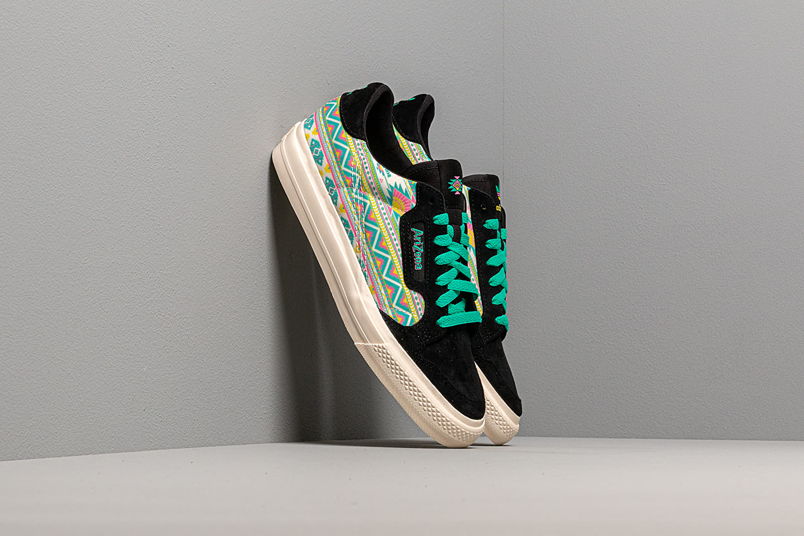 adidas x Arizona Tea Continental Vulc W Core Black/ Core White/ Suplier  Color | Footshop
