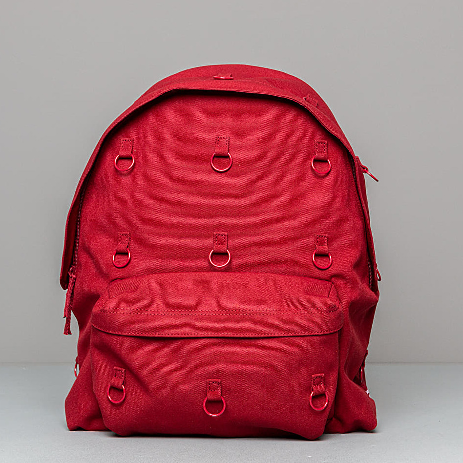 Eastpak x Raf Simons Padded Loop Bag Burgundy Orange