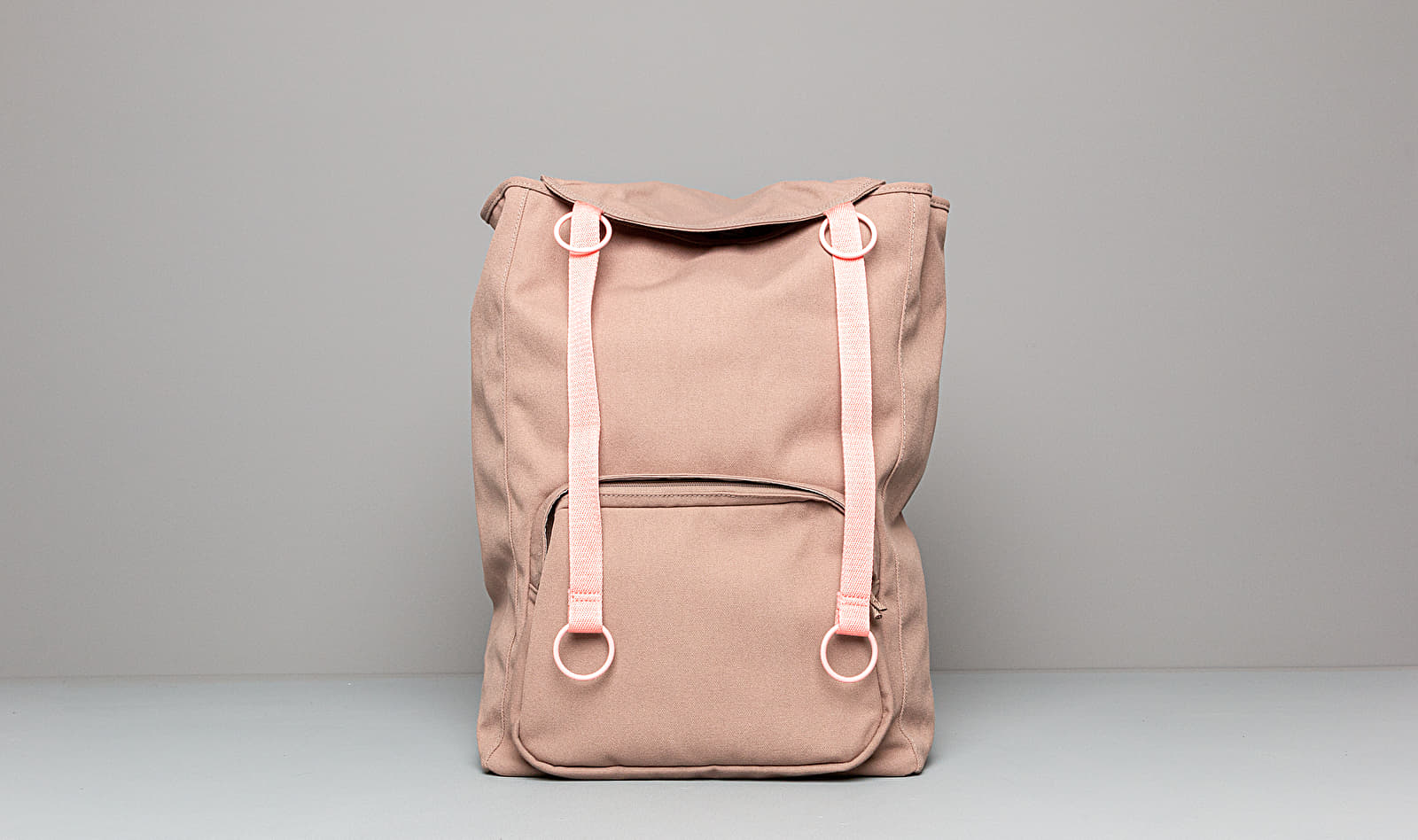 Eastpak x Raf Simons Topload Loop Backpack Grey Pink