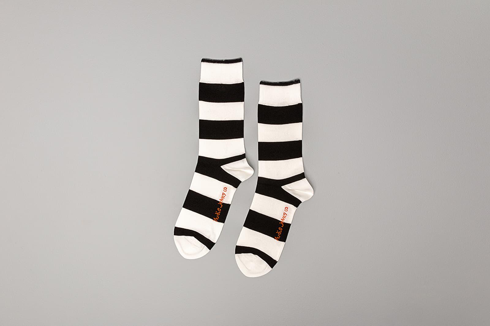 Nudie Jeans Olsson Block Stripe Socks
