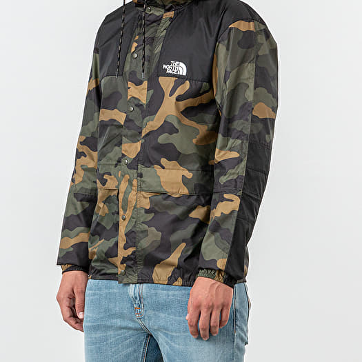 camouflage jacke north face