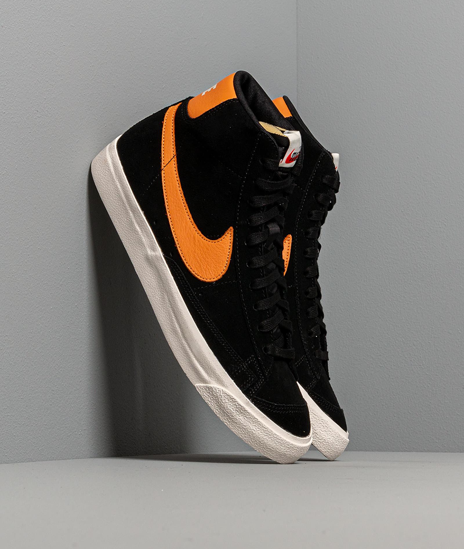 Nike Blazer 77 Black/ Amber Rise-Sail EUR 40 Nike