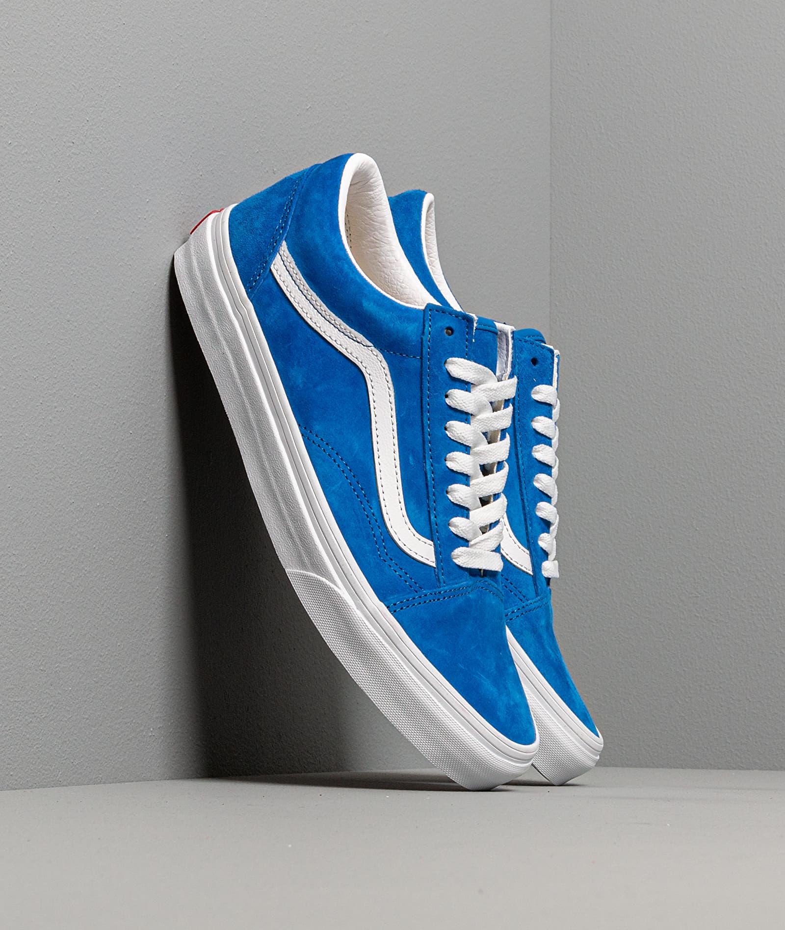 Vans Old Skool (Pig Suede) Princes Blue/ True White