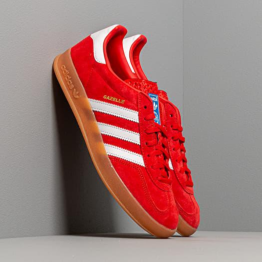 adidas Gazelle Indoor Active Red/ Ftw White/ Gum3 | Footshop