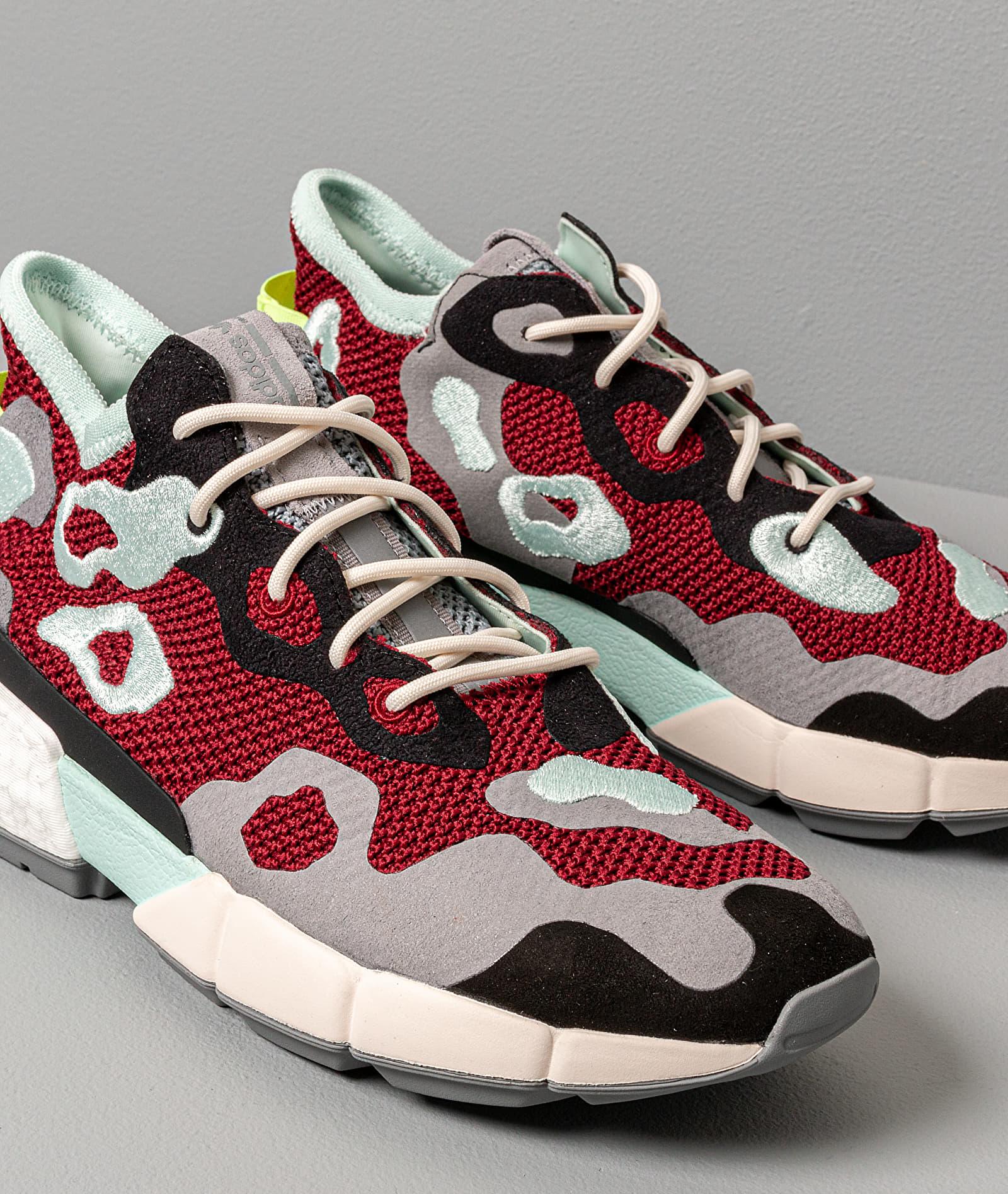adidas Pod-S3.2 Ml Core Burgundy/ Grey Three/ Ice Mint, Red