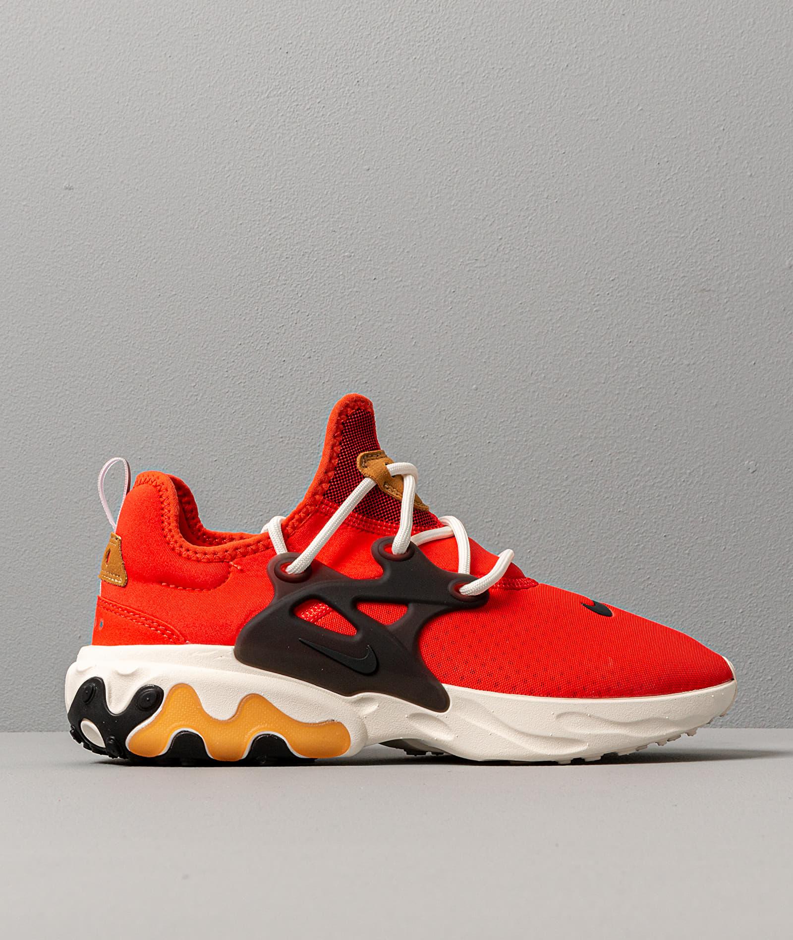 Nike React Presto Habanero Red/ Black-Wheat-Sail