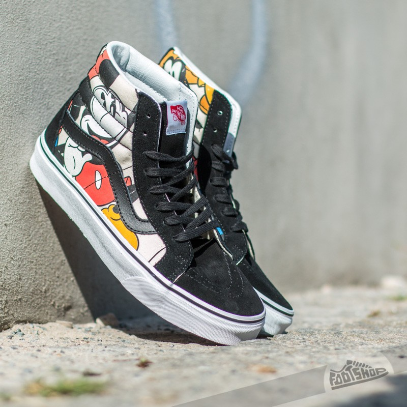 Vans Sk8-Hi Reissue DISNEY Mickey   Friends Black  58380d3792