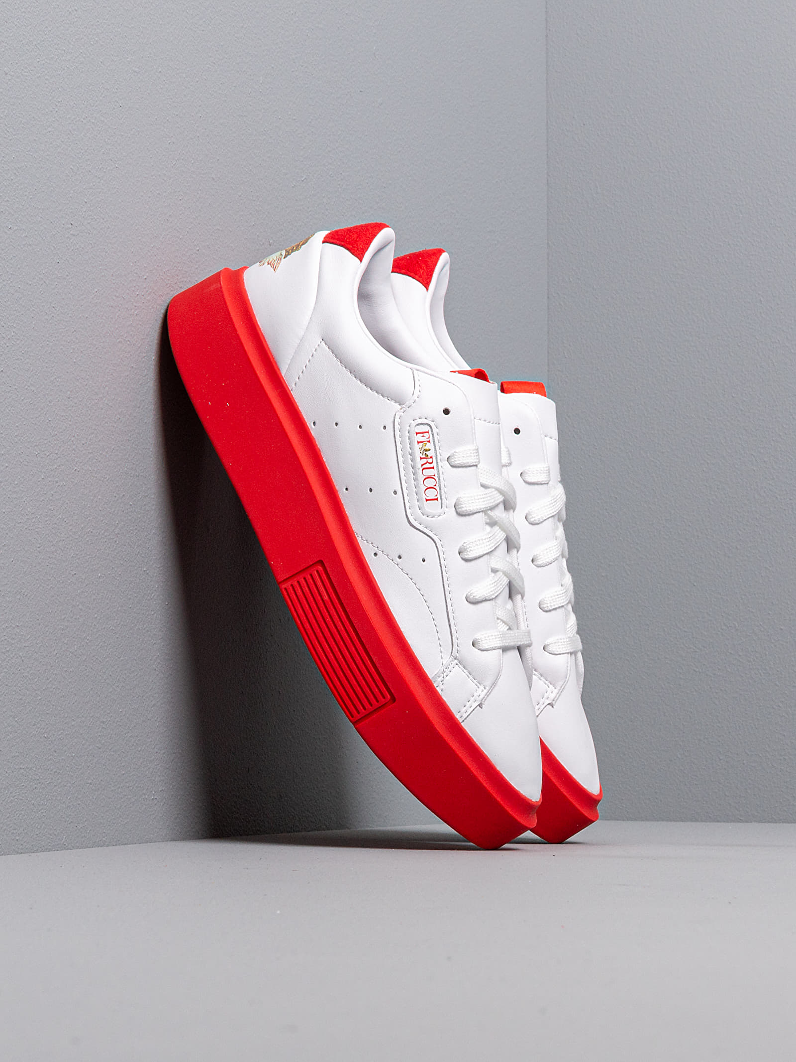adidas x Fiorucci Sleek Super W Ftw White Red Core Black Footshop  Footshop