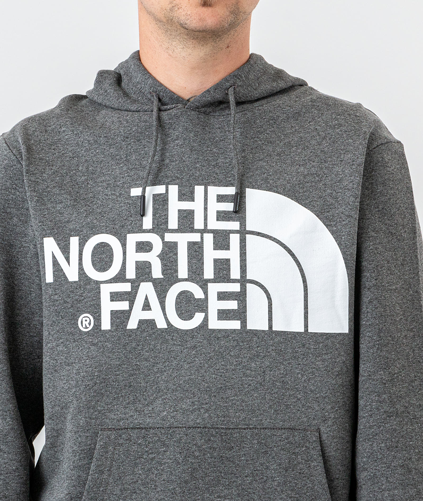 The North Face Standard Hoodie Medium Grey Heather, Gray