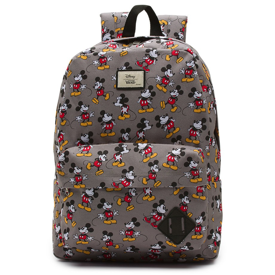 69e9a7cc1d2 Vans Disney Old Skool II Back Pack Mickey Mouse Grey