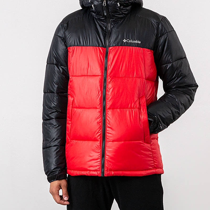 Columbia Pike Lake™ Hooded Jacket Mountain Red/ Black