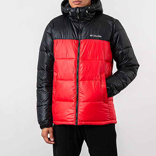 Jacken Columbia Pike Lake™ Hooded Jacket Mountain Red Black