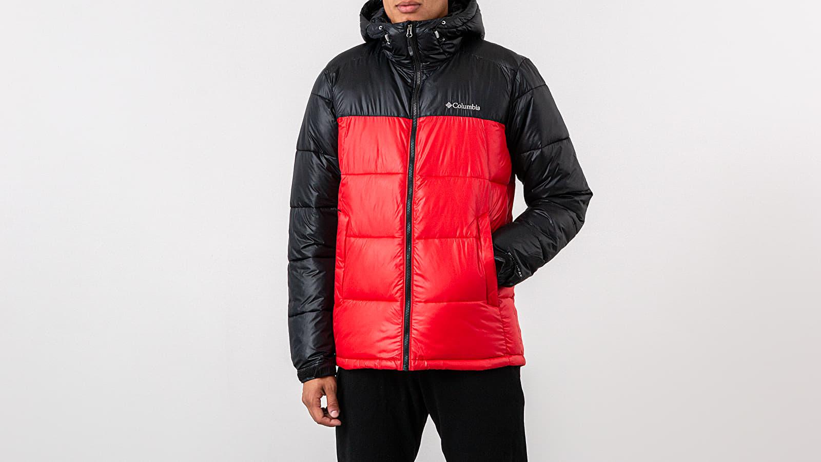 Jackets Columbia Pike Lake™ Hooded Jacket Mountain Red/ Black