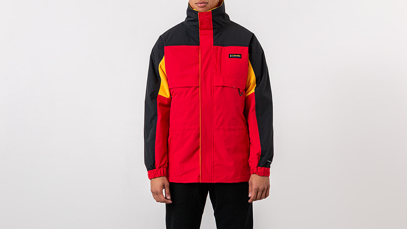 Jackets Columbia Gizzmo™ Interchange Parka Mountain Red/ Black