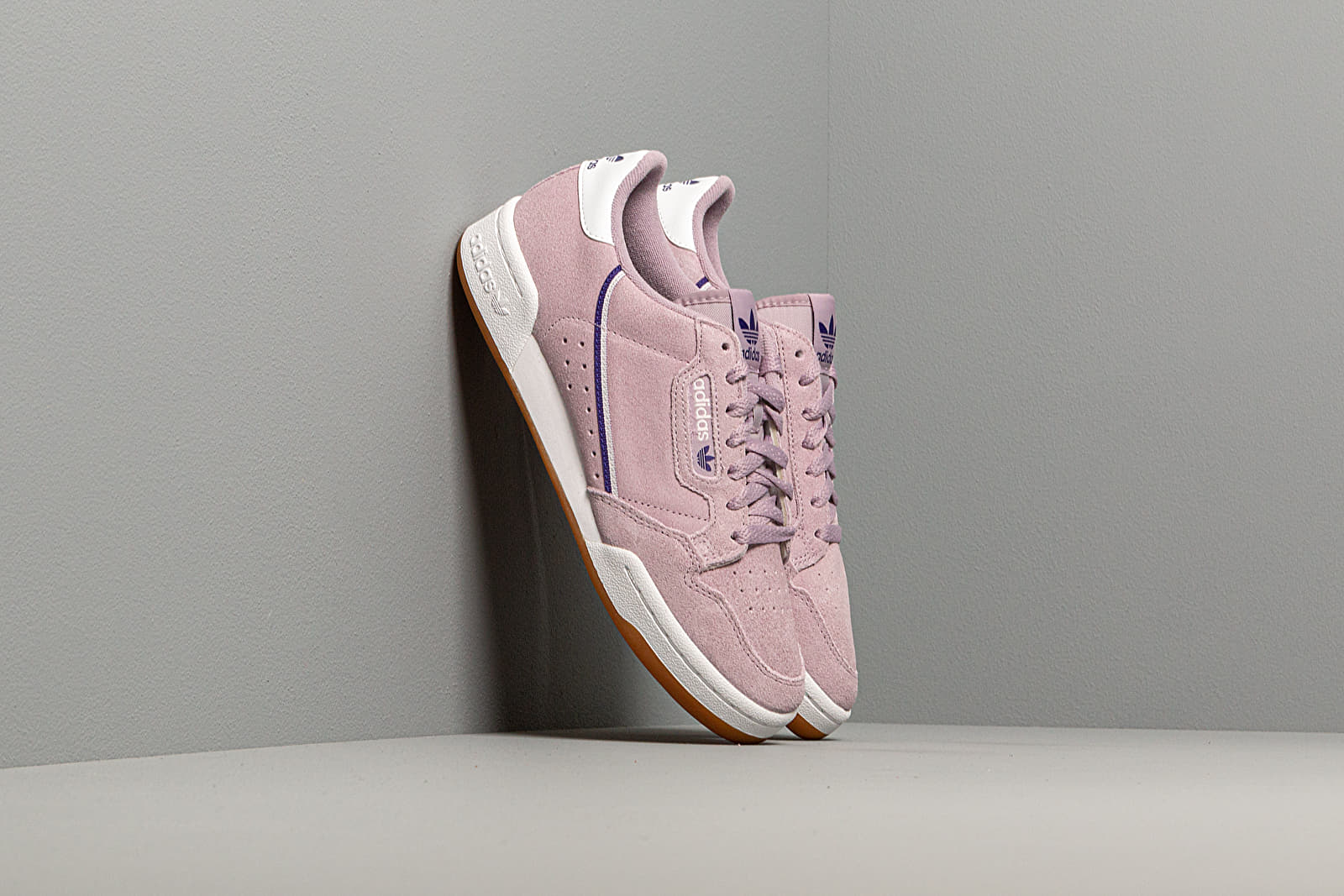 Women's shoes adidas Continental 80 W Soft Vision/ Core Purple/ Orchid Tint