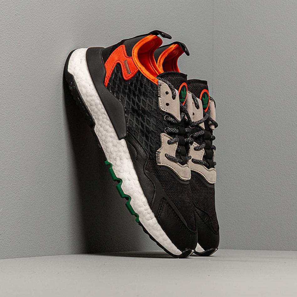 adidas Nite Jogger Core Black/ Grey Six/ Orange